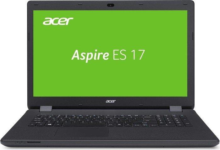 """Ноутбук Acer Aspire ES1-731G-P4RL 17.3"""" 1600x900, Intel Pentium N3700 1.6GHz, 2Gb RAM, 500Gb HDD, GeForce 910M-2Gb, WiFi, BT, Cam, W10, черный (NX.MZTER.013)"""