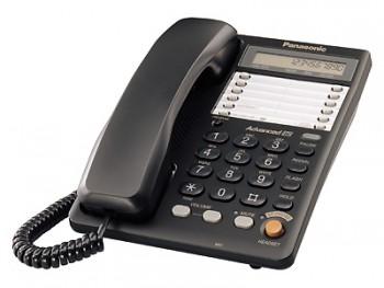 Проводной телефон Panasonic KX-TS2365RUB, Black