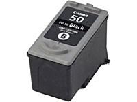 Картридж струйный Canon PG-50 (0616B001), черный, оригинальный, ресурс 412 страниц, для Canon FAX-JX200 / JX210 / JX500 / JX510, MultiPASS-450, PIXMA-iP2200 / MP150 / MP160 / MP170 / MP180 / MP450 / MP460 / MX300 / MX310