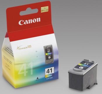 Картридж струйный Canon CL-41 (0617B025), голубой/пурпурный/желтый, оригинальный, ресурс 312 страниц, для Canon MultiPASS-450, PIXMA-iP1200 / iP1300 / iP1600 / iP1700 / iP1800 / iP1900 / iP2200 / iP2500 / iP2600 / iP6210 / iP6220 / iP6310 / iP6320 / MP140 / MP150 / MP160 / MP170 / MP180 / MP190 / MP210 / MP220 / MP450 / MP460 / MX300 / MX310
