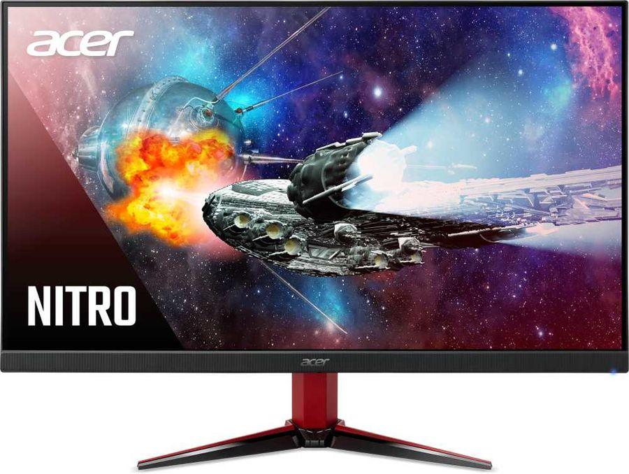 """Монитор 24.5"""" Acer VG252QXbmiipx IPS, 1920x1080 (16:9), 400кд/м2, 240 Гц, 1мс, Adaptive-Sync, HDMI, DisplayPort, черный (UM.KV2EE.X01)"""