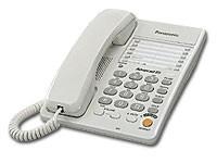 Проводной телефон Panasonic KX-TS2363RUW White