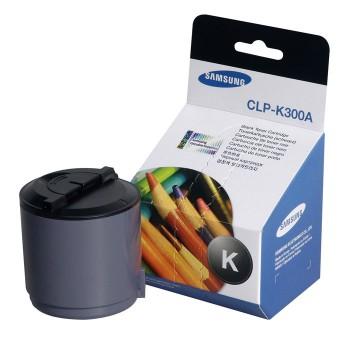 Картридж лазерный Samsung CLP-K300A, черный, 1шт., 2000 страниц, оригинальный, для CLP-300, CLX-3160 / 2160