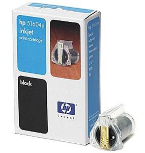 Картридж струйный HP (51604A), черный, оригинальный, объем 3мл, для HP Scanjet Enterprise Flow N9120, HP Quietjet, HP Quietjet Plus, HP Thinkjet