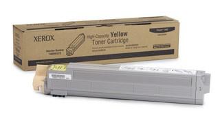 Картридж лазерный Xerox 106R01079, желтый, 1шт., 18000 страниц, оригинальный, для Xerox Phaser 7400