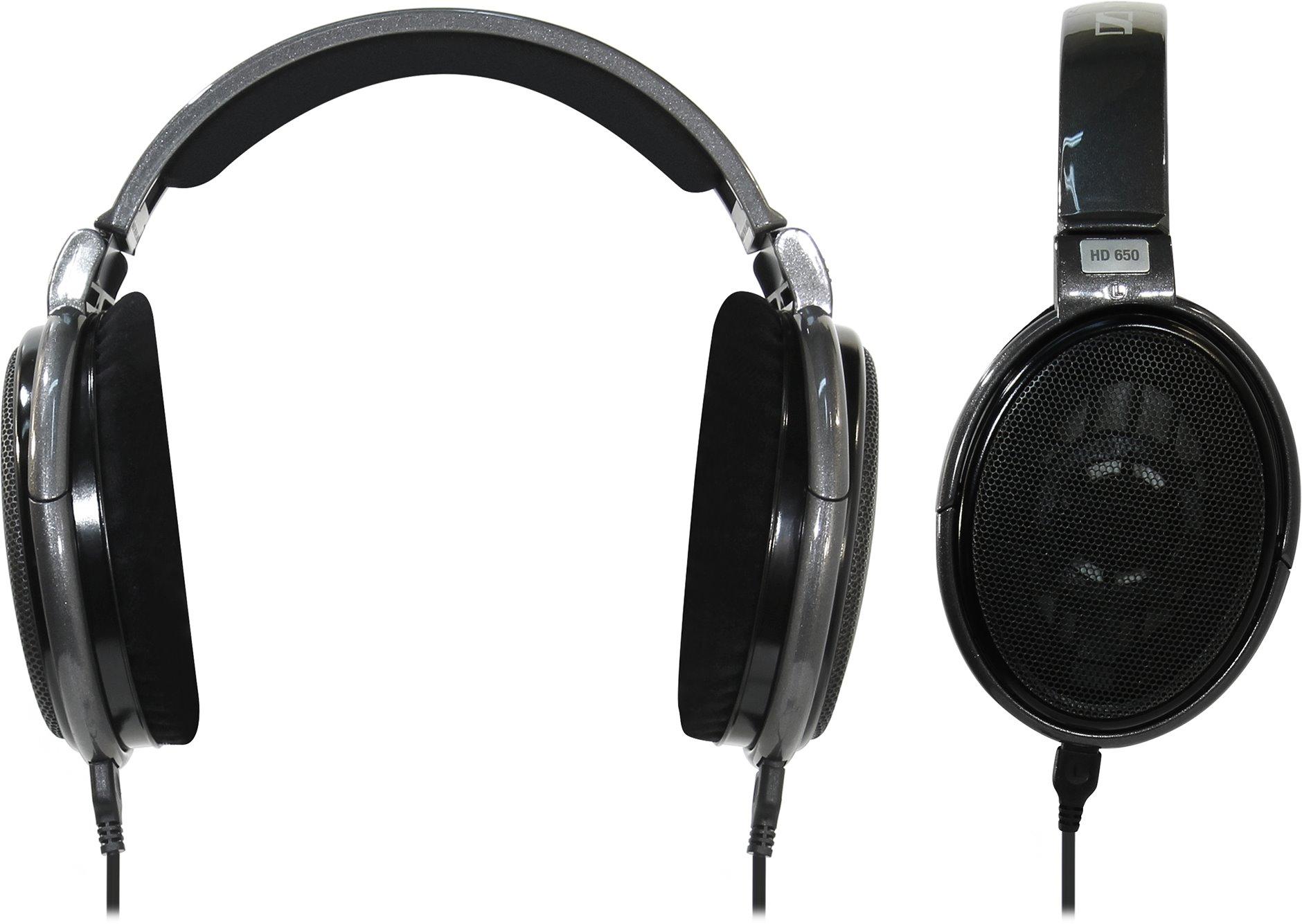 Проводные наушники Sennheiser HD 650, jack 6.3 mm, серый