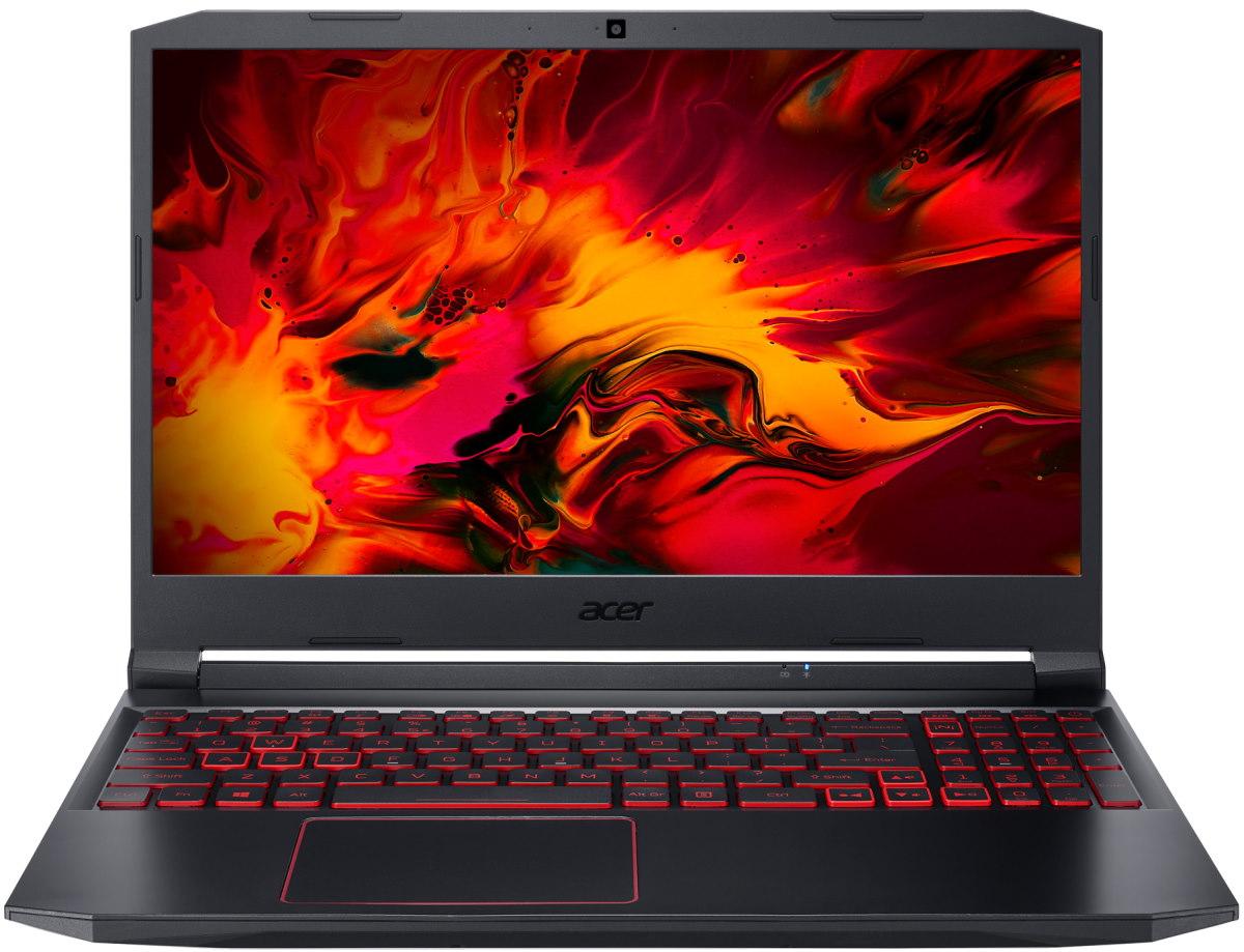 "Ноутбук Acer Nitro 5 AN515-55-79CT 15.6"" 1920x1080, Intel Core i7-10750H 2.6GHz, 8Gb RAM, 512Gb SSD, NVIDIA GeForce GTX 1650 Ti-4Gb, WiFi, BT, Cam, Eshell, черный (NH.Q7JER.00D)"