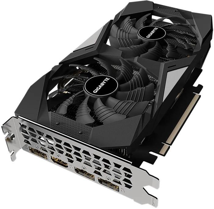 Видеокарта GIGABYTE NVIDIA GeForce RTX 2060 D6 6G, 6Gb DDR6, 192bit, PCI-E, HDMI, 3DP, Retail (GV-N2060D6-6GD 2.0)