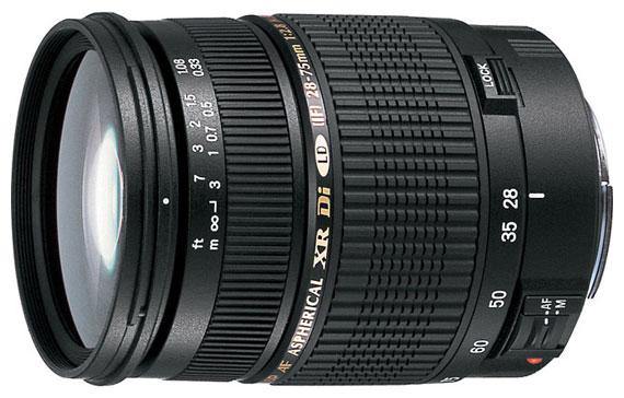 Объектив Tamron SP AF 28-75mm f/2.8 XR Di LD Aspherical (IF) Canon EF (A09E)