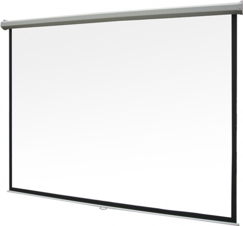 Экран для проектора рулонный ScreenMedia Goldview, настенно-потолочный 1:1 244x244 MW, экран (SGM-1106)