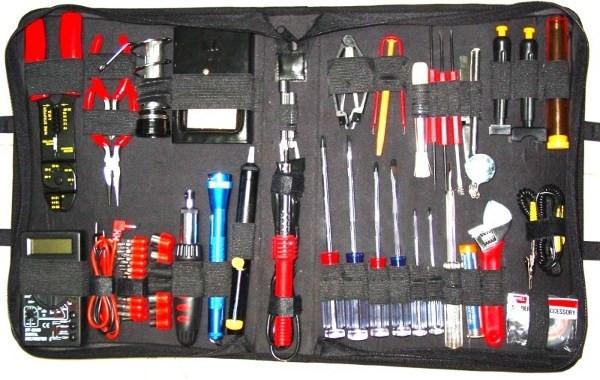 Набор инструментов Gembird TK-ELEC, предметов в наборе: 63шт.