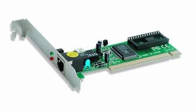 Сетевая карта Gembird NIC-R1, 1xRJ-45, 100 Мбит/с, PCI