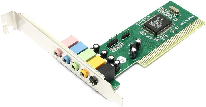 Звуковая карта C-media CMI8738-LX 5.1, PCI, Bulk