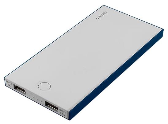 Портативный аккумулятор Rombica NEO NS100B, 10000mAh, 2xUSB, 2.1A, синий