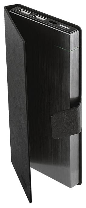Портативный аккумулятор (Powerbank) Rombica NEO MS100, 10000mAh, 2xUSB, 2.1A, серый
