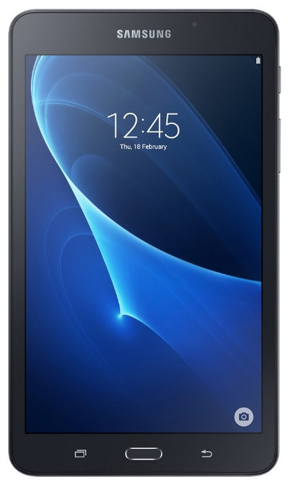"Планшет Samsung Galaxy Tab A (2016) 7"" 1280x800, TN, SC8830, 1.5Gb RAM, 8Gb, WiFi, BT, 2xCam, 4000mAh, Android 5.x, черный (SM-T280NZKASER)"