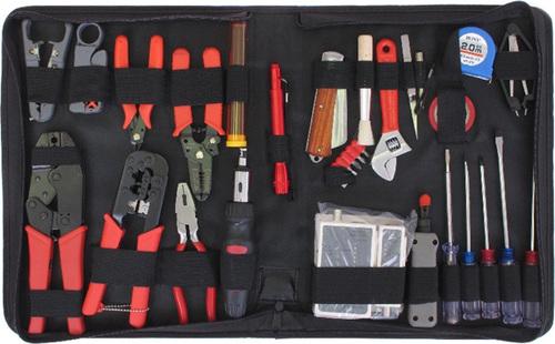 Набор инструментов Gembird TK-NETWORK, предметов в наборе: 31шт.