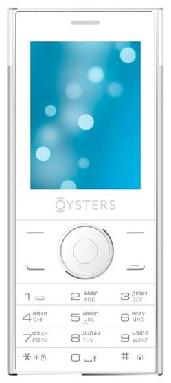 """Мобильный телефон Oysters Ufa 2.4"""" 320x240, TN, 32Mb RAM, BT, Cam, 2-Sim, 700mAh, белый"""