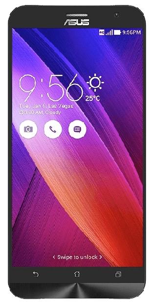 "Смартфон ASUS ZenFone Zoom ZX551ML (2016) 5.5"" 1920x1080, IPS, Atom Z3590, 4Gb RAM, 128Gb, 3G/LTE, WiFi, BT, 2xCam, 1-Sim, 3000mAh, Android 5.x, белый (90AZ00X2-M01380)"