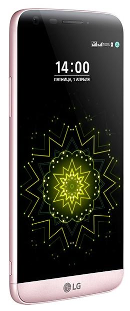 "Смартфон LG G5se (H845) 5.3"" 2560x1440, IPS, MSM8976, 3Gb RAM, 32Gb, 3G/LTE, WiFi, BT, 2xCam, 2-Sim, 2800mAh, Android 6.x, розовый"