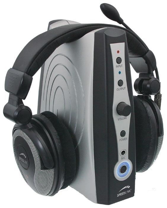 Гарнитура Speedlink MEDUSA XE 5.1 True Surround Headset, USB, черный (SL-8796-BK-01)