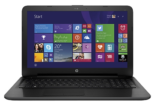 "Ноутбук HP 250 G4 15.6"" 1366x768, Intel Core i3-5005U 2.0GHz, 4Gb RAM, 128Gb SSD, DVD-RW, WiFi, BT, Cam, W10, черный (T6P81EA)"