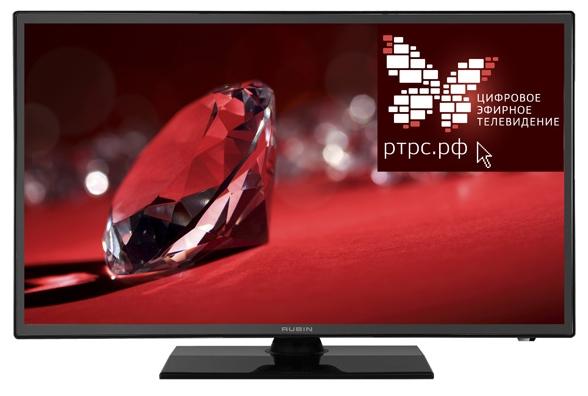 "Телевизор Rubin RB-22SE9FT2S 22"" 1920x1080, DVB-T2/C/S2, HDMI, USB, черный"
