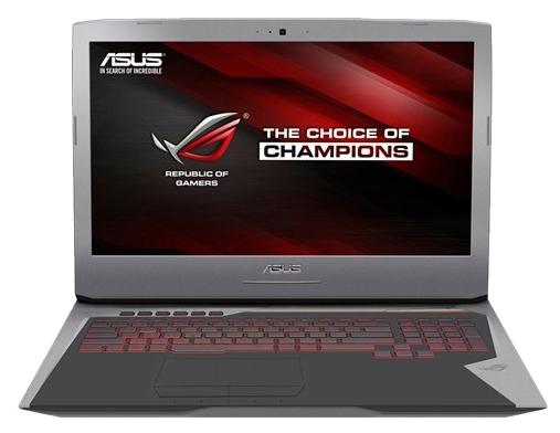 "Ноутбук ASUS ROG G752VY-GC260T 17.3"" 1920x1080, Intel Core i7-6820HK 2.7GHz, 64Gb RAM, 2Tb HDD+2x256Gb SSD, Blu-Ray, GeForce GTX 980M-8Gb, WiFi, BT, Cam, W10 (90NB09V1-M02980)"