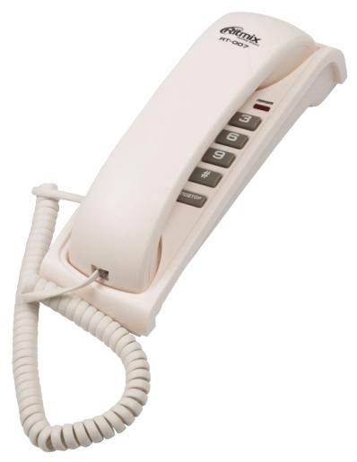 Проводной телефон Ritmix RT-007, черный (15118345)