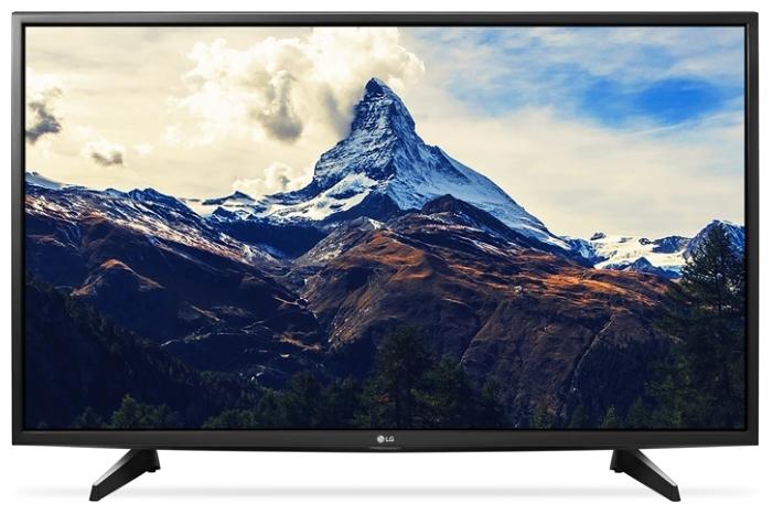 "Телевизор LG 49UH610V, 49"" 3840x2160, DVB-T2/C/S2, HDMI, USB, WiFi, черный"
