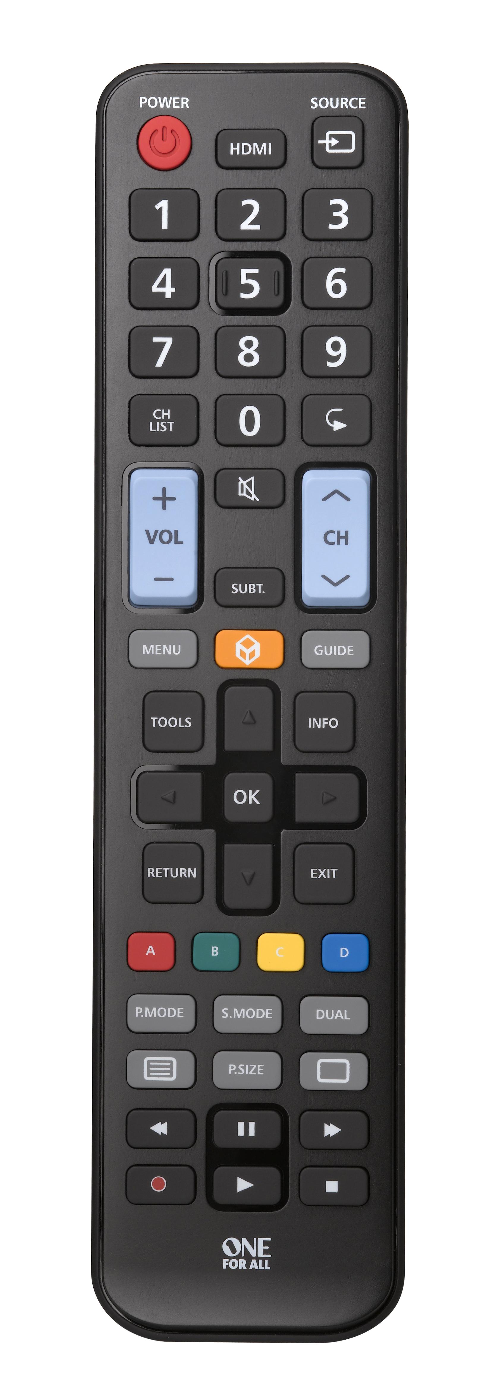 Пульт универсальный OneForAll URC1910 для телевизоров Samsung