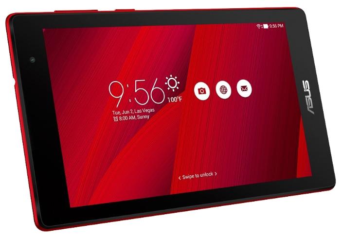 "Планшет ASUS ZenPad Z170CG 7"" 1024x600, IPS, Atom x3-C3230RK, 1Gb RAM, 8Gb, 3G, WiFi, BT, 2xCam, Android 5.x, красный (90NP01Y3-M03530)"