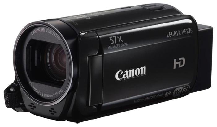 Видеокамера Canon Legria HF R76, черный (1237C004)