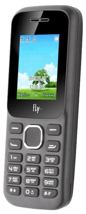 """Мобильный телефон Fly FF178 1.77"""" TN, 32Mb, BT, Cam, 2-Sim, 1800mAh, черный"""