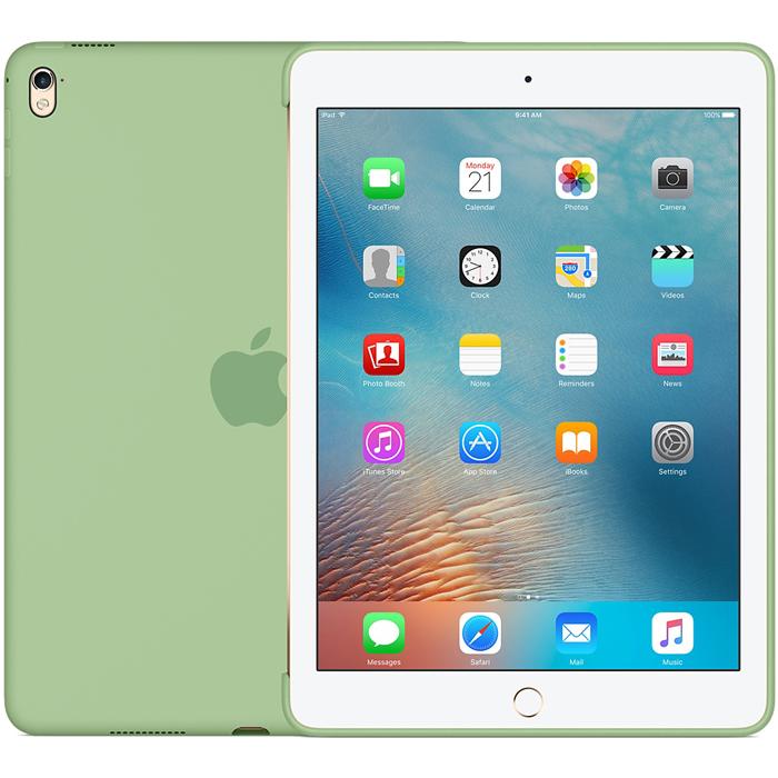 Чехол Apple Silicone Case для iPad Pro 9.7 Mint, мятный (MMG42ZM/A)