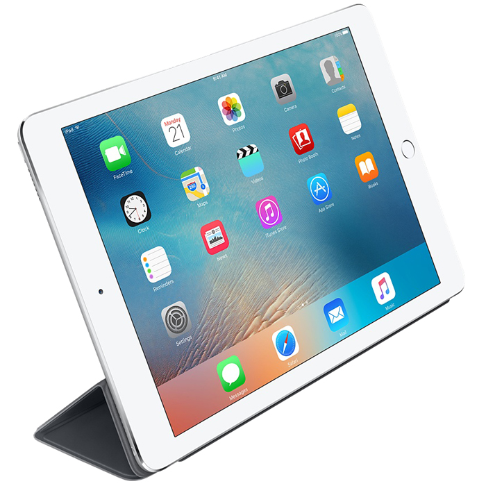 "Чехол Apple для iPad Pro 9.7"" Silicone Cover, темно-серый (MM292ZM/A)"