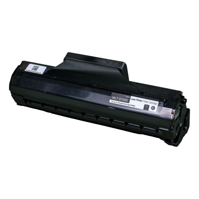 Картридж лазерный SAKURA SAMLTD104S (MLTD104S), черный, 1500 страниц, совместимый, для Samsung ML-1660/1665/1667/SCX-3200/3205