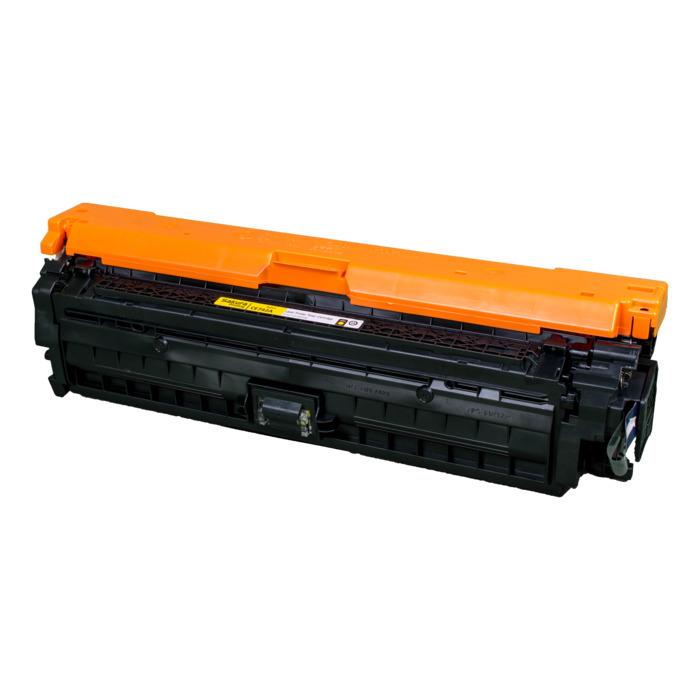 Картридж лазерный SAKURA SACE742A (CE742A), желтый, 7300 страниц, совместимый, для CLJP CP5525/CP5525n/CP5525dn