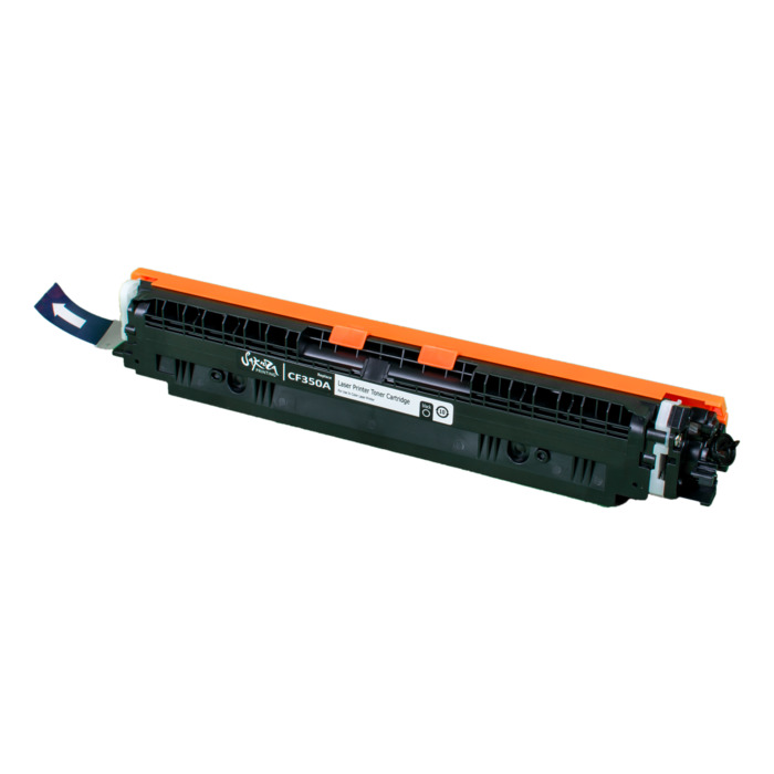 Картридж лазерный SAKURA SACF350A (CF350A), черный, 1300 страниц, совместимый, для CLJP M176/M177 MFP