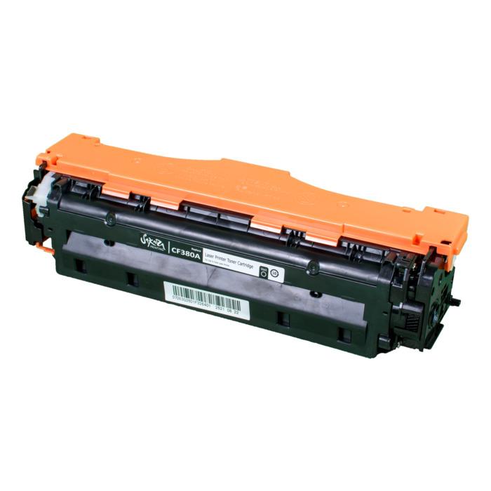 Картридж лазерный SAKURA SACF380A (CF380A), черный, 2400 страниц, совместимый, для CLJP MFP M476