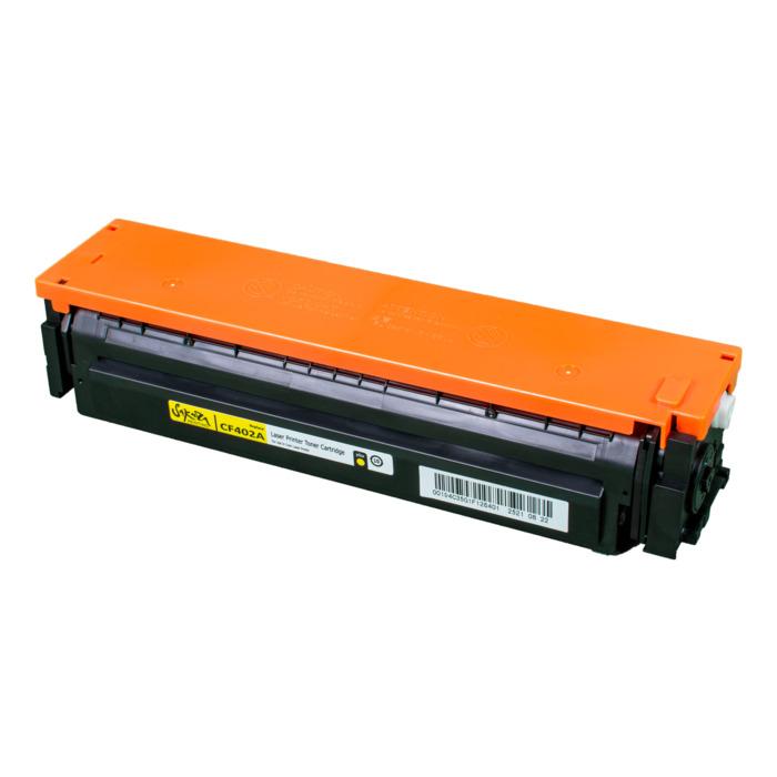 Картридж лазерный SAKURA SACF402A (CF402A), желтый, 1400 страниц, совместимый, для LJ M452DW/DN/NW, M477FDW/M477FDN/M477FNW