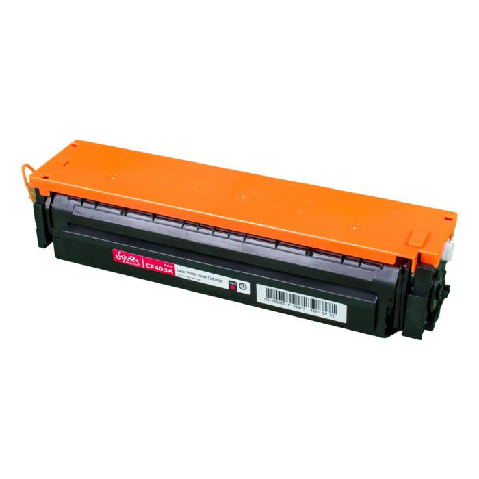 Картридж лазерный SAKURA SACF403A (CF403A), пурпурный, 1400 страниц, совместимый, для LJ M452DW/DN/NW, M477FDW/M477FDN/M477FNW