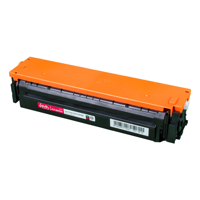 Картридж лазерный SAKURA SACF403X (CF403X), пурпурный, 2300 страниц, совместимый, для LJ M452DW/DN/NW, M477FDW/M477FDN/M477FNW