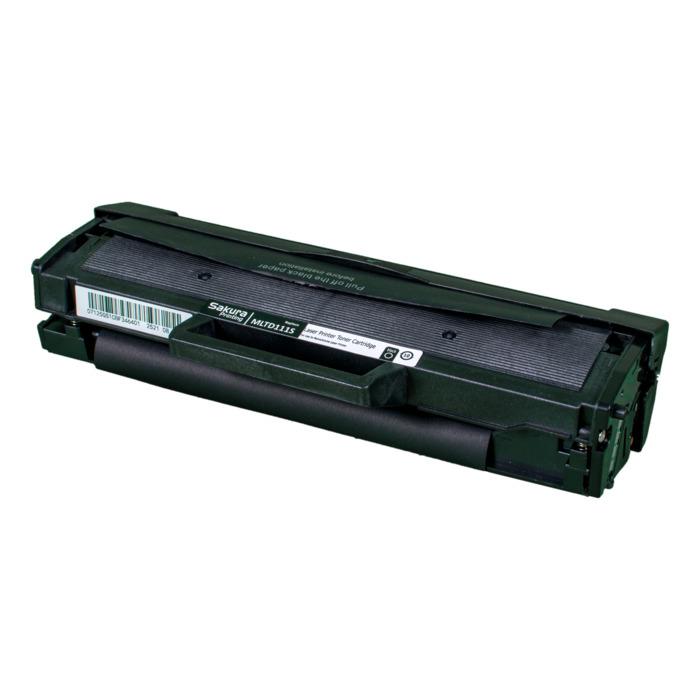 Картридж лазерный SAKURA SAMLTD111S (MLTD111S), черный, 1000 страниц, совместимый, для Samsung Xpress SL-M2020 2020W M2022 2022W M2070 2070W