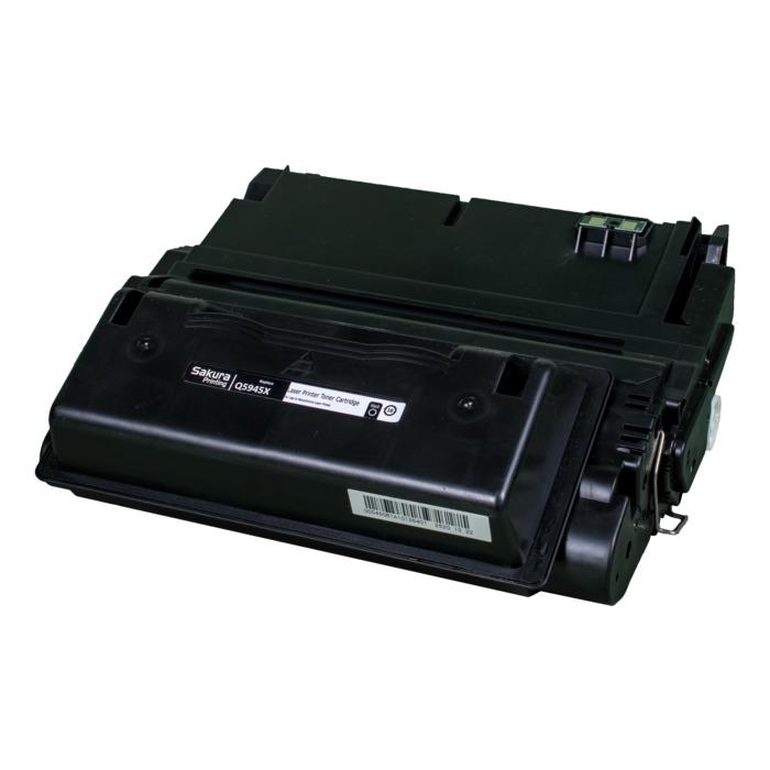 Картридж лазерный SAKURA SAQ5945X (Q5945X), черный, 25000 страниц, совместимый, для LJ 4200/4300/4240/4240N/4250/4350/4345
