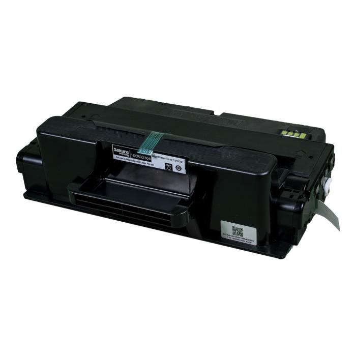 Картридж лазерный SAKURA SA106R02304 (106R02304), черный, 5000 страниц, совместимый, для Xerox XEROX P3320