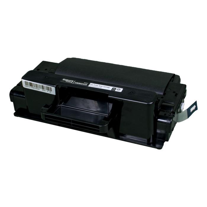 Картридж лазерный SAKURA SA106R02310 (106R02310), черный, 5000 страниц, совместимый, для Xerox XEROX WC_3315/WC_3325