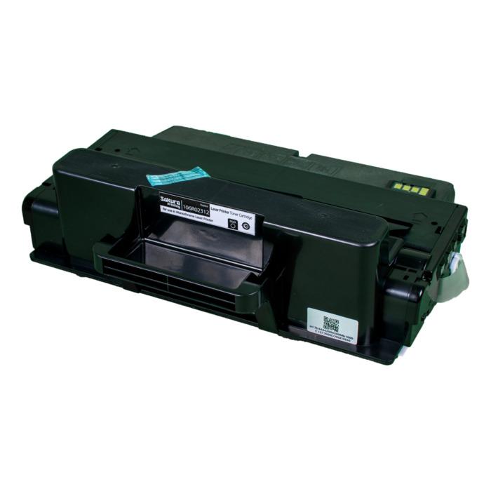 Картридж лазерный SAKURA SA106R02312 (106R02312), черный, 11000 страниц, совместимый, для Xerox XEROX WC_3325