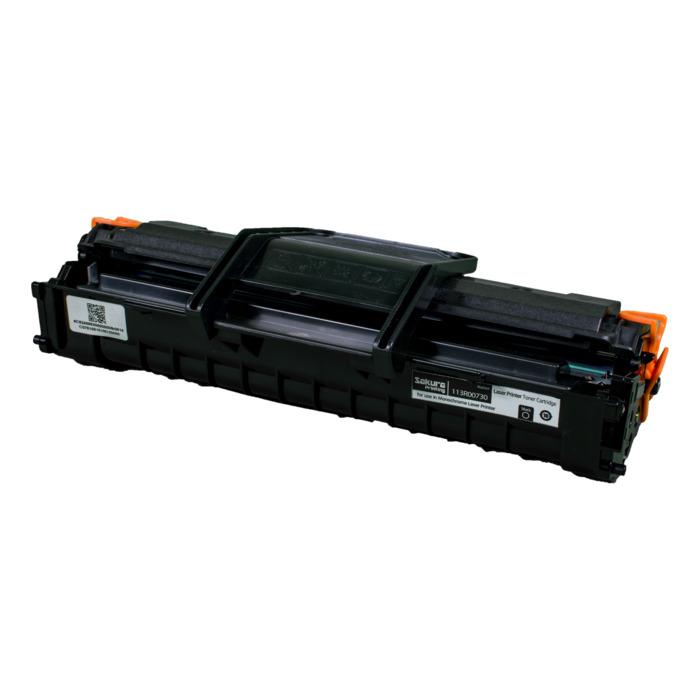 Картридж лазерный SAKURA SA113R00730 (113R00730), черный, 3000 страниц, совместимый, для Xerox XEROX P3200/P3201