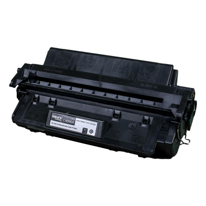 Картридж лазерный SAKURA SAC4096A (C4096A), черный, 5000 страниц, совместимый, для LJ 2100/2200/2100M/2100TN